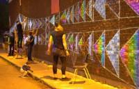 Fête de quartier - Franchir un mur pour construire des ponts