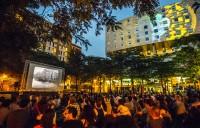 Cinéma, Djs & Chefs invités à la place de la Paix (programme)